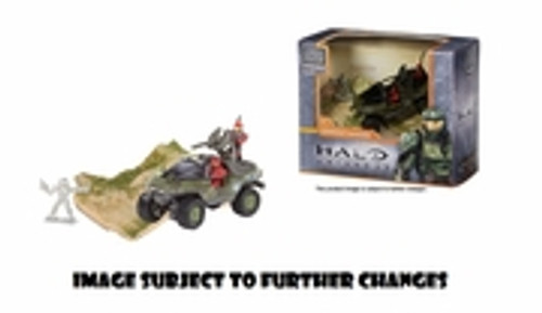 Mega Bloks HALO UNIVERSE UNSC Warthog Light Armored Vehicle, a featured HALO UNIVERSE Mega Bloks REPLICA.