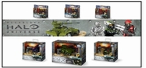 Mega Bloks HALO UNIVERSE BattlePack IV [4], a featured HALO UNIVERSE Mega Bloks REPLICA.