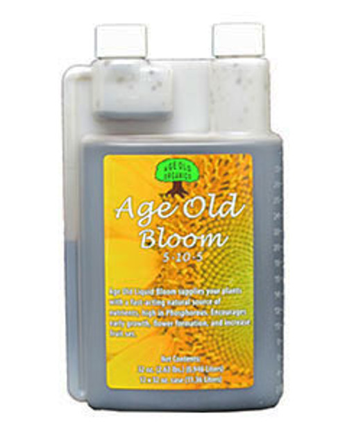 AGE OLD ORGANICS - BLOOM LIQUID 1 QT