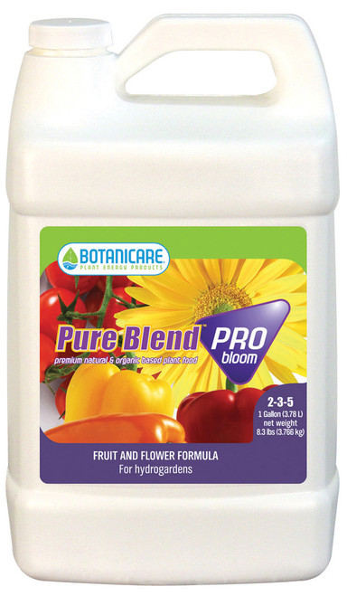 BOTANICARE - PURE BLEND PRO BLOOM HYDRO 1 GAL