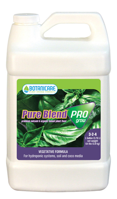 BOTANICARE - PURE BLEND PRO GROW 1 GAL