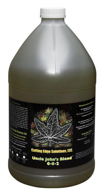 CUTTING EDGE SOLUTION - UNCLE JOHNS BLEND 1 GAL