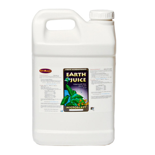 EARTH JUICE - MICROBLAST 2.5 GAL