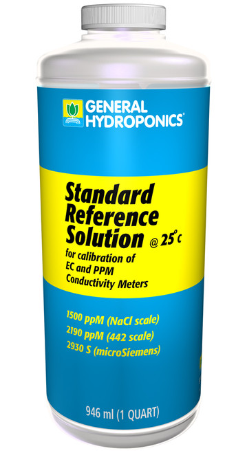 GENERAL HYDROPONICS - 1500PPM REFERENCE SOLUTION 8 OZ