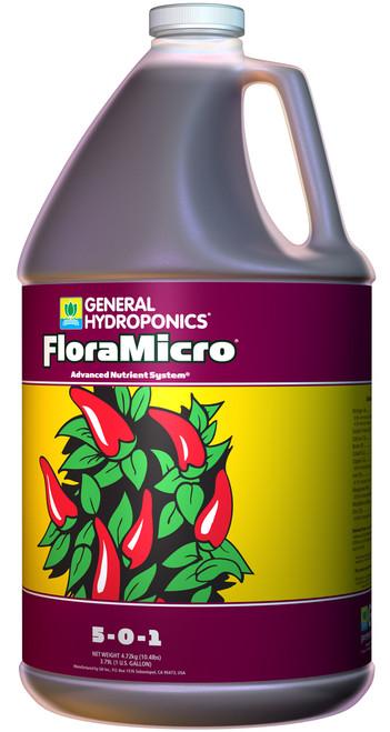 GENERAL HYDROPONICS - FLORAMICRO 1 GAL