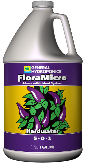 GENERAL HYDROPONICS - FLORAMICRO HARDWATER 1 GAL