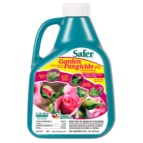 SAFER - GARDEN FUNGICIDE CONCENTRATE 1 PT