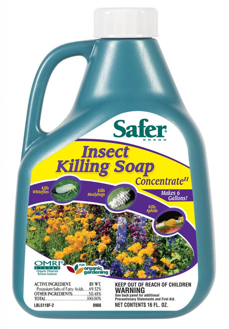 SAFER - INSECT KILLING SOAP CONCENTRATE