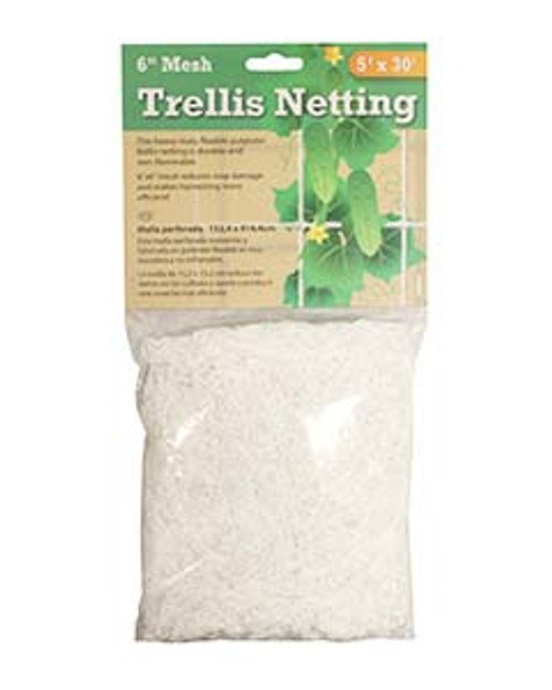 HYDROFARM TRELLIS NETTING 3.5IN MESH 5FT X 30FT