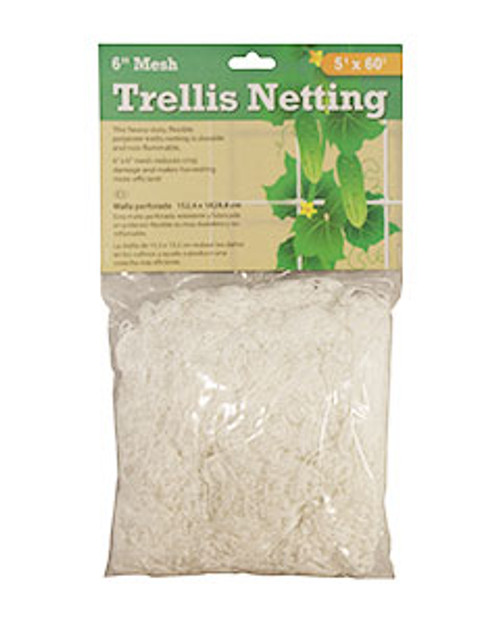HYDROFARM TRELLIS NETTING 3.5IN MESH 5FT X 60FT