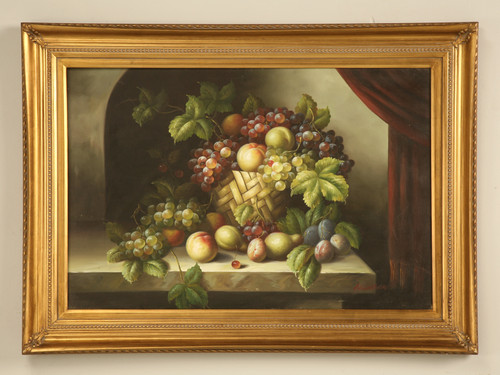 Decorative Fruit Oil Painting