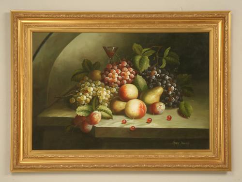 Decorative Fruit Still Life Oil Painting