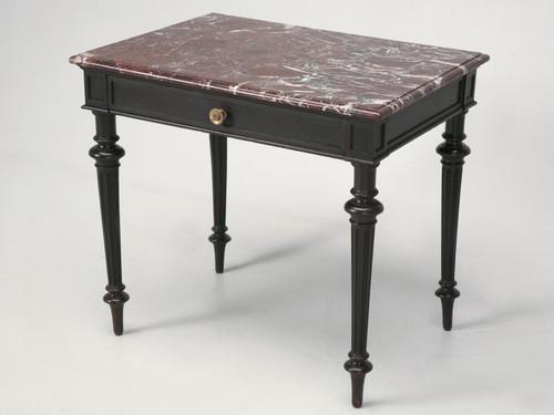 Small Napoleon III Ebonized Side Writing Table