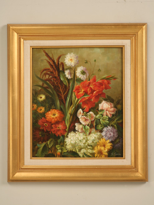 Decorative Flower Still Life Oil Painting