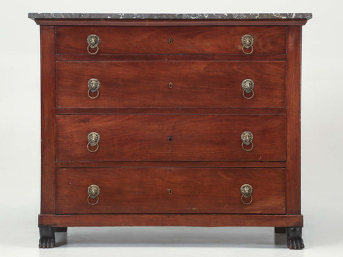 Antique French Commode with Paw Feet c.1800s