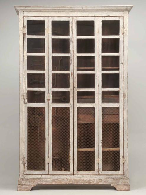 Original Paint Italian Boatyard Cabinet