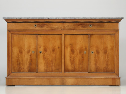 Antique French Louis Philippe Cherry Buffet Front