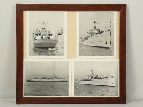 Photograph of the USS Wilmette Warship