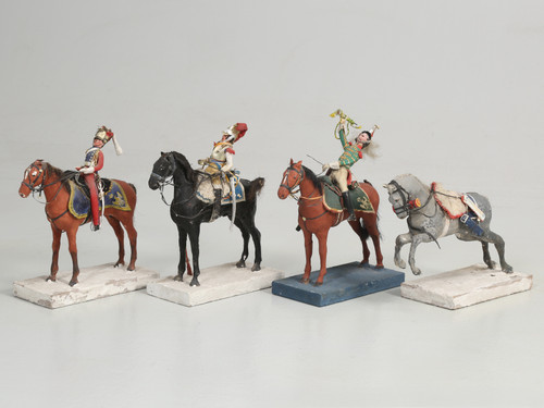 Set of (4) Historic French Military Figures