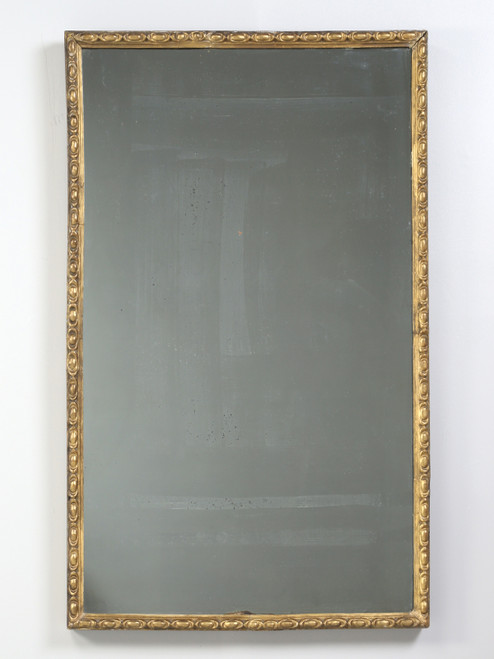 Antique Gilded Large Mirror from Ireland