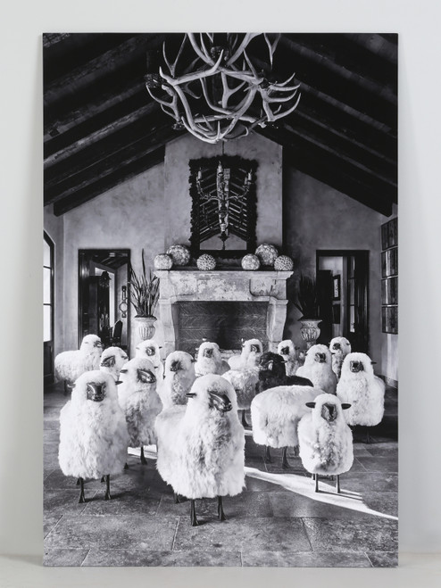 Tony Soluri Original Sheep Silver Print Main