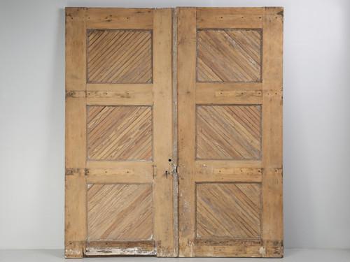 Antique American Garage or Barn Doors 1890s