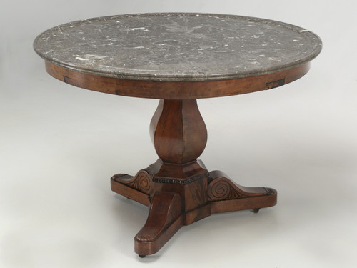 Antique French Walnut Centre-Hall Table