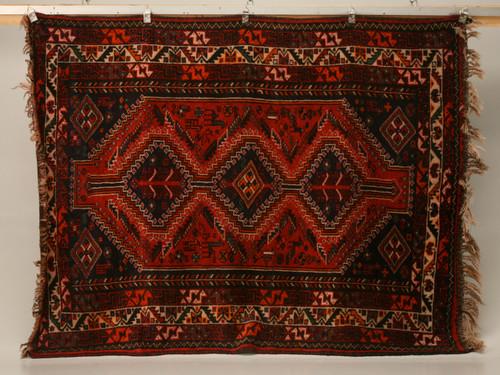 Vintage Persian Shiraz Rug
