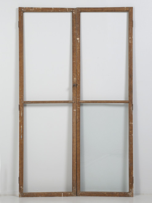 Antique French Wood and Glass Doors