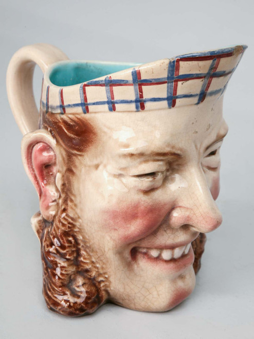 Large Antique French Toby Jug
