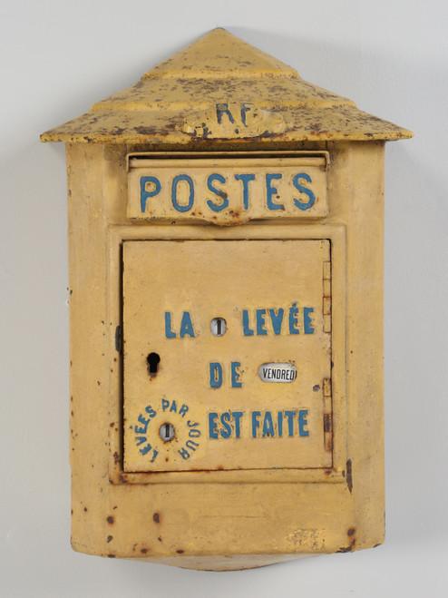 Antique French Delachanal Paris Mailbox