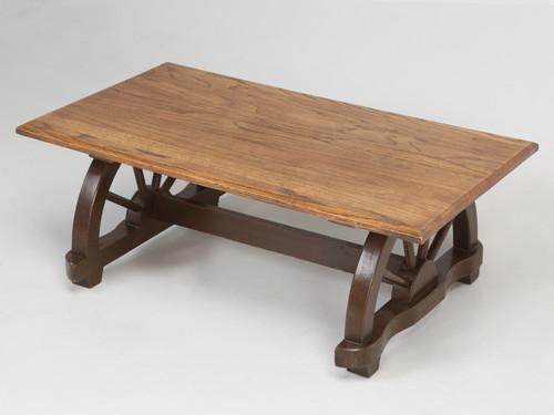 American Western Ranch Oak Table c.1950s