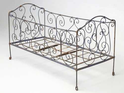 Antique French Child's Bed