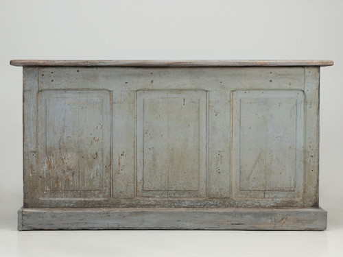 Country French Painted Store or Bakery Counter