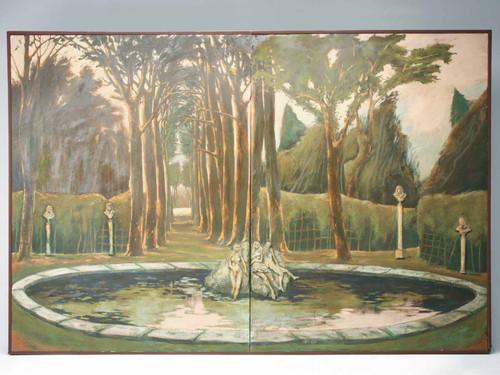 Original 8'x12' 3D Wall Relief
