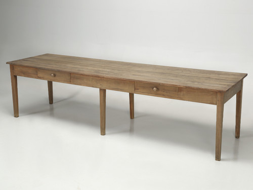Antique French Farm Table from Toulouse Main