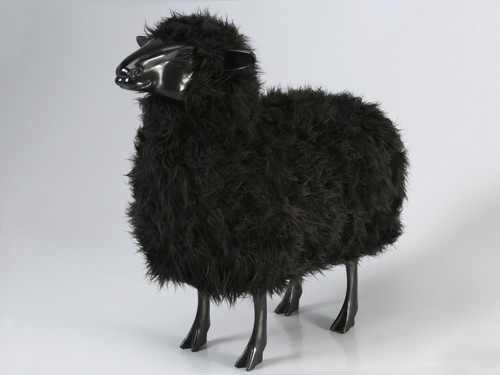 Old Plank Black Sheep in Resin Main