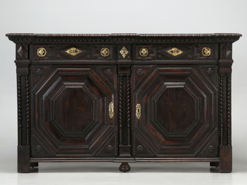 Antique French Buffet from St-Malo Front