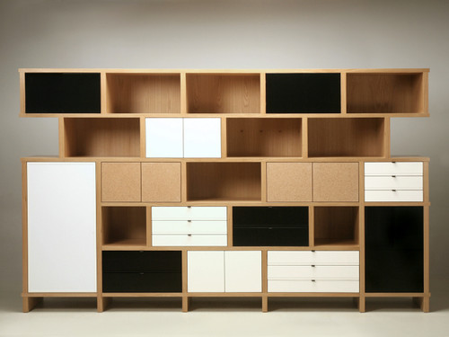 Custom Charlotte Perriand Inspired Bookcase Front