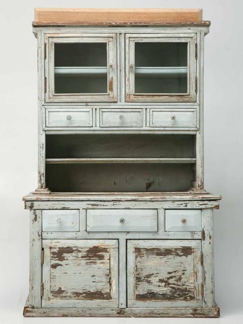 Antique American Pine Child's Cupboard