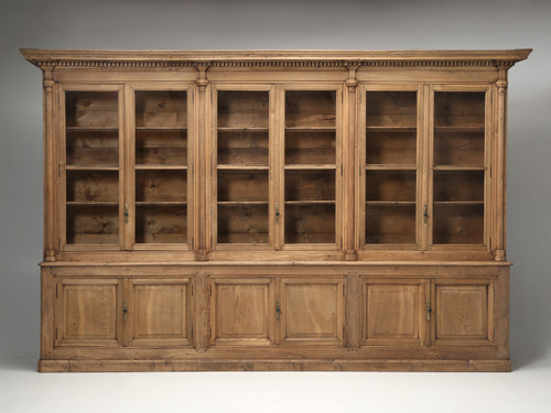 1850s French Bookcase in Exceptional Condition Front
