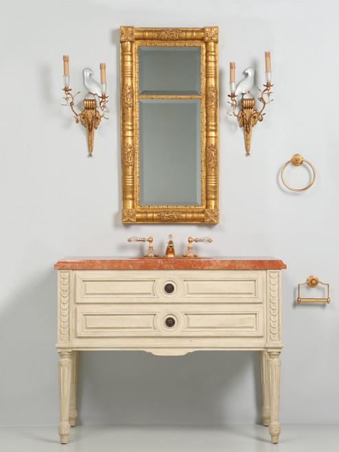 Sherle Wagner French Louis XVI Style Vanity Set