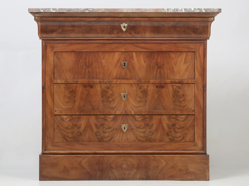 Antique Louis Philippe Style Chest of Drawers Front