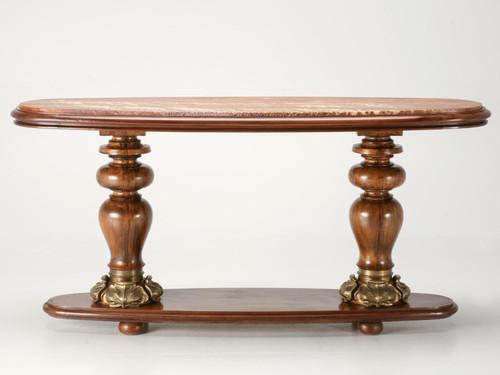Antique Viennese Art Nouveau Console Table