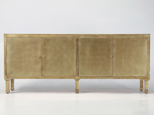 Custom Solid Bronze Buffet (Christian Maas style) Front