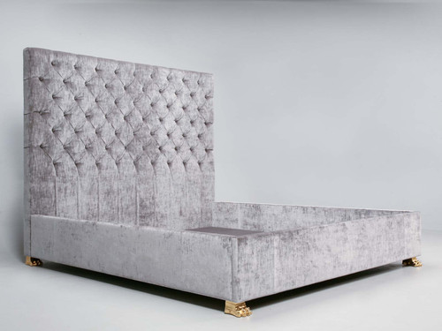 Hand Made Upholstered King Size Bed