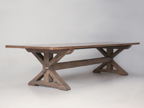 Custom Rift Oak Dining Table Main