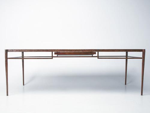 Custom Antiqued Bronze Giacometti Style Desk