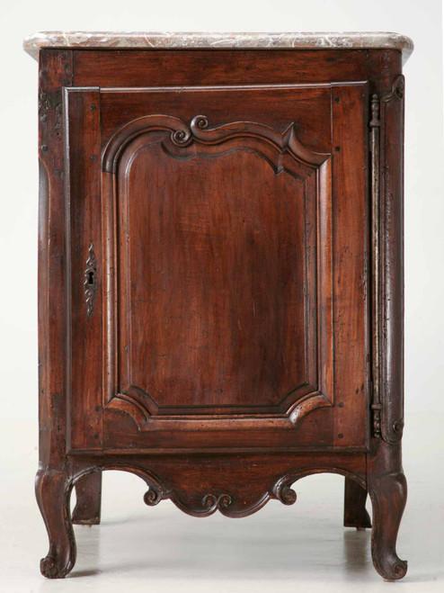 18th C. Antique French Walnut Louis XV Cupboard