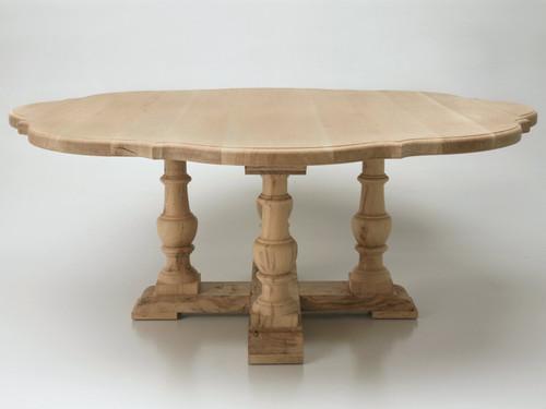 Custom Double Clover Leaf Dining Table Main